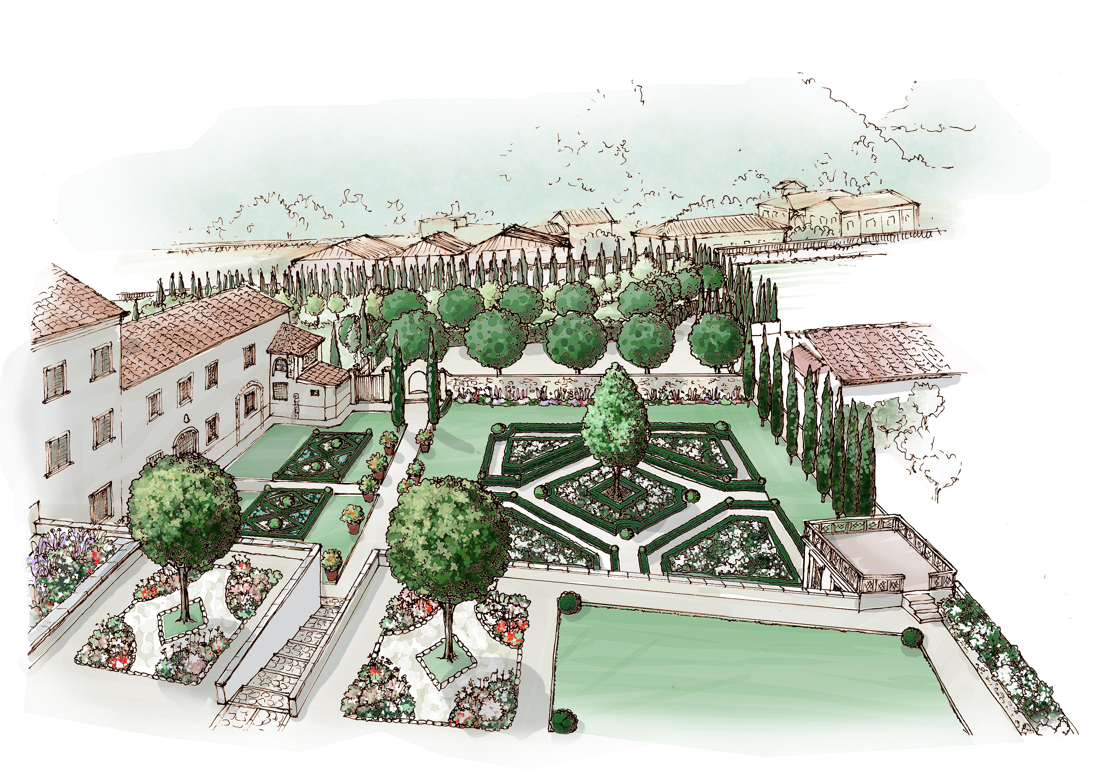 Introduzione alla progettazione dei giardini firenze for Corso progettazione giardini
